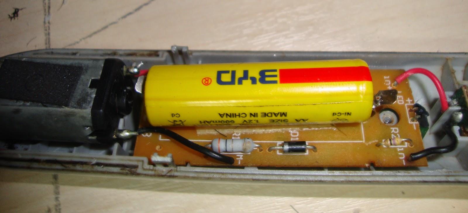 Αντικατάσταση μπαταρίας επαναφορτιζόμενης συσκευής
