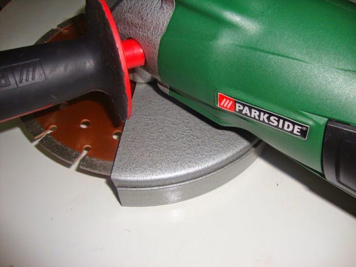 γωνιακός τροχός parkside PWS 230