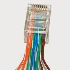 επιδιόρθωση σε καλώδιο δικτύου ethernet