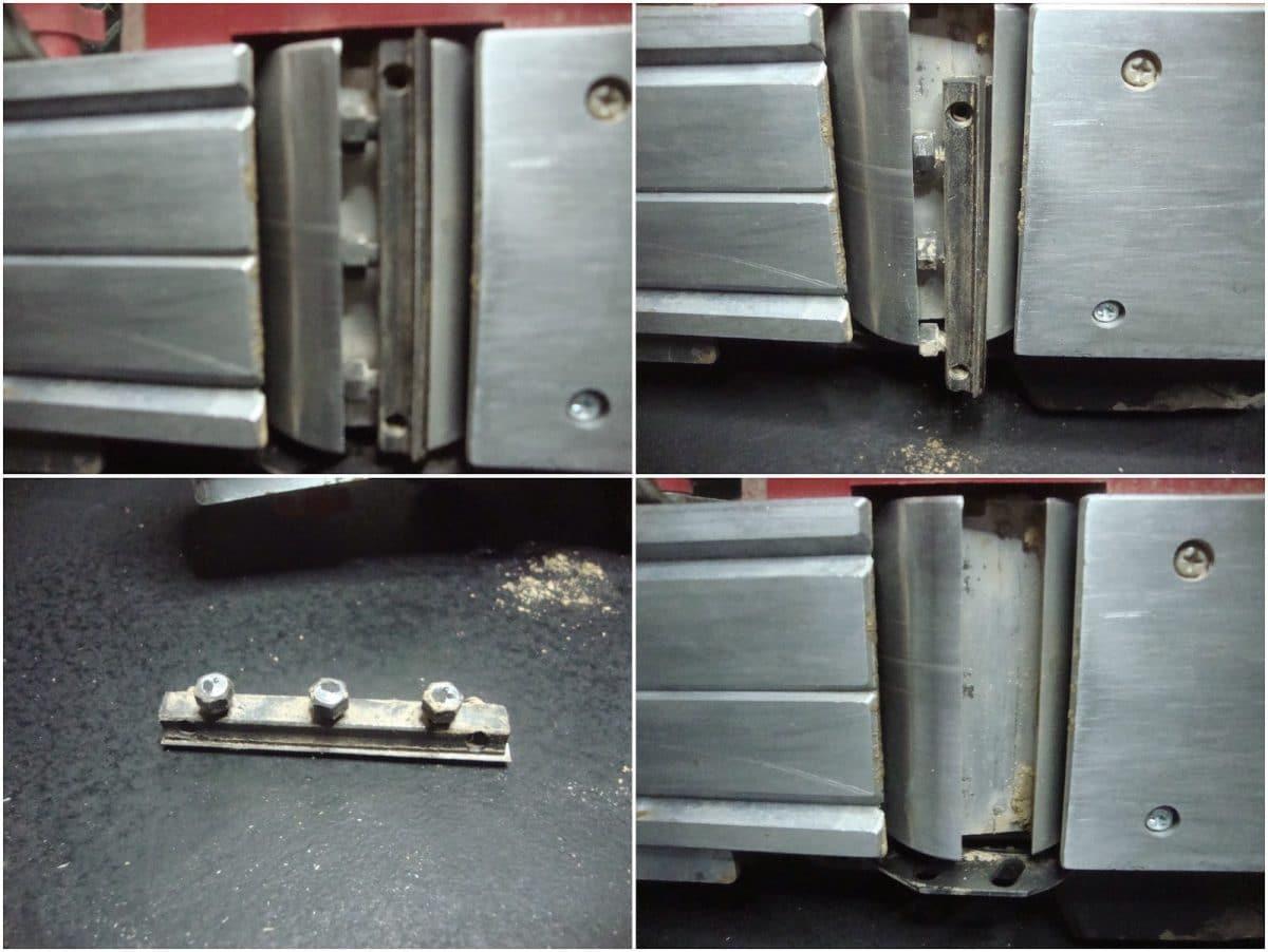 Αντικατάσταση μαχαιριών σε ηλεκτρική πλάνη Parkside