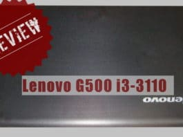 Lenovo G500 i3 3110M