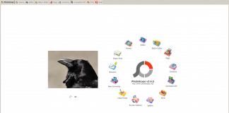 Photoscpe πρόγραμμα επεξεργασάις είκονων για Windows