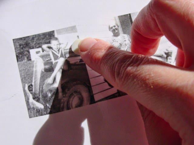 φωτογραφίες πάνω σε γυαλί