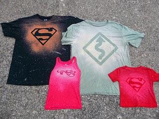6dab4343b505 Κάντε σχέδια στα ρούχα σας με χλωρίνη - SuperEverything
