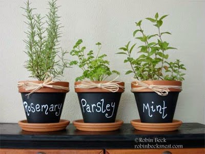 chalkboard-clay-pots