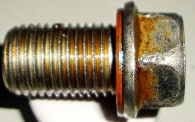 Τάπα κάρτερ Μ14 σπείρωμα,17αρι κλειδί και χάλκινη ροδέλα