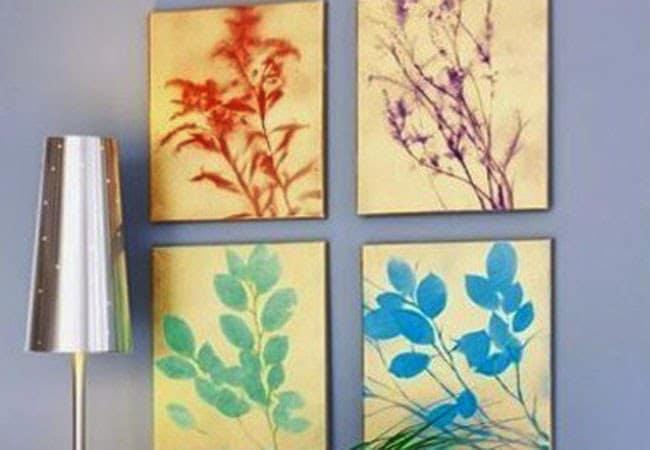 πίνακες με κλαδιά φυτών