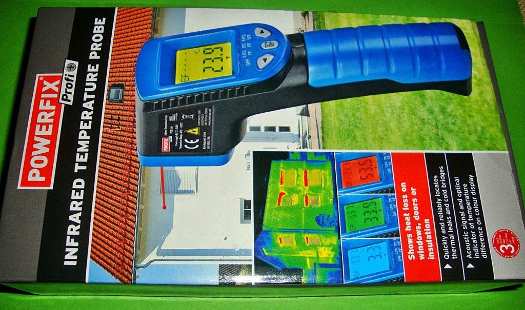 Unboxing θερμόμετρο υπερύθρων powerfix