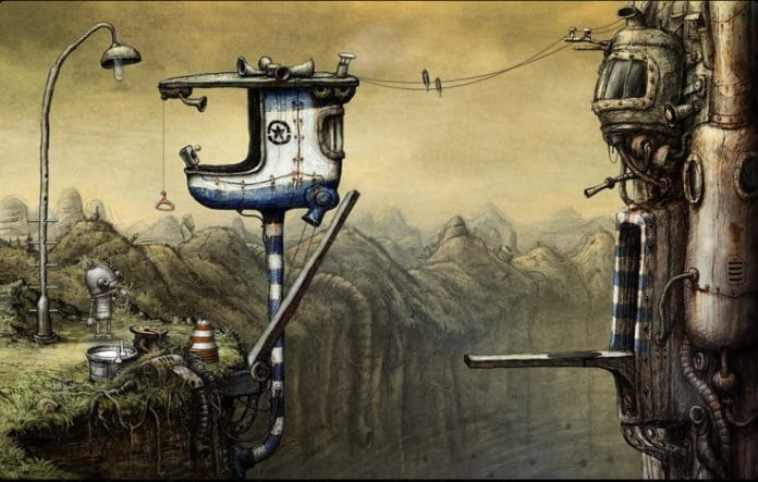 Machinarium Steampunk indie Adventure