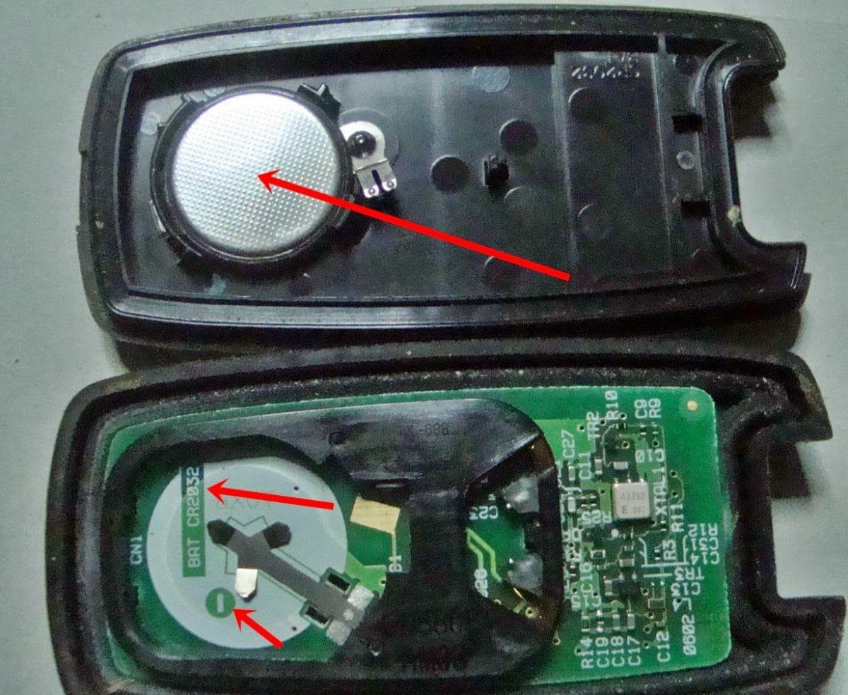 αλλαγή μπαταρίας σε κλειδιά αυτοκινήτου