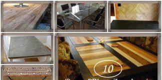 10 πρωτότυπες ιδέες για DIY τραπέζια σαλονιού