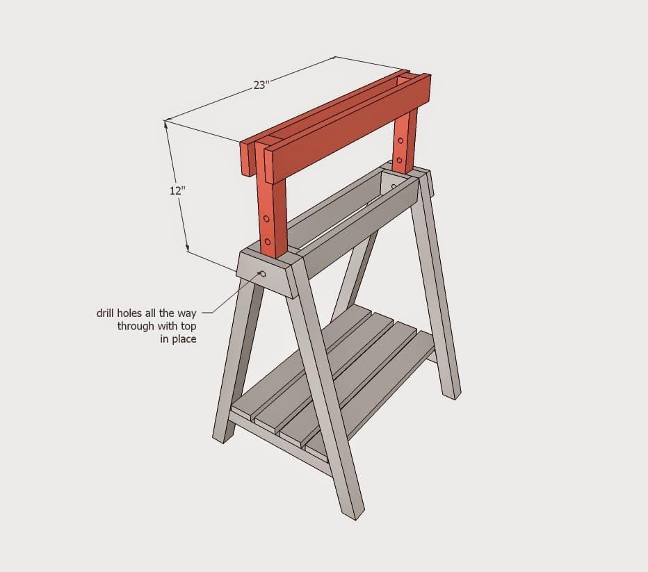 ξύλινο καβαλέτο με ρυθμιζόμενο ύψος
