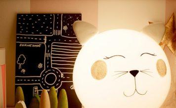 diy φωτιστικό γάτα