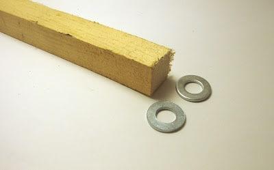 ημικύκλιο σε ξύλο