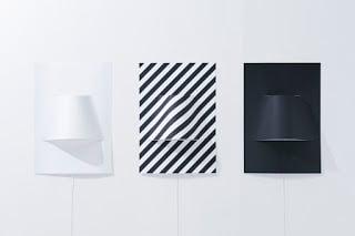 φωτιστικά τοίχου από αυτοκόλλητα πόστερ