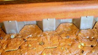 βοήθημα κουζίνας για κόψιμο εξάγωνων κομματιών σε κέικ