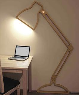 Nepa lamp ένα επίπεδο φωτιστικό γραφείου