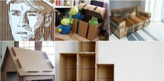 10 μοναδικές κατασκευές με χαρτόνι