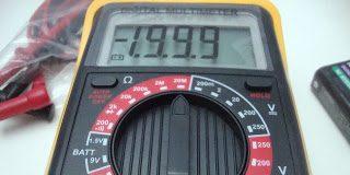 ψηφιακό πολύμετρο Powerfix