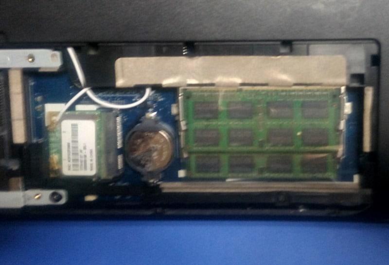 Αλλαγή μνήμης σε Laptop Acer Aspire