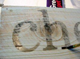μεταφορά εικόνας σε ξύλο