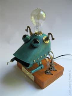 Steampunk φωτιστικά γραφείου