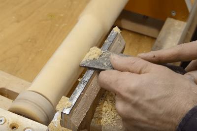 πως φτιάχνει αυτοσχέδιο ξυλότορνο