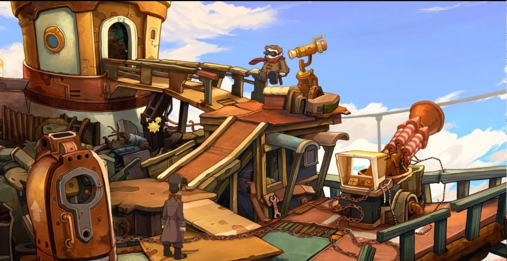 Deponia I ένα point n click adventure