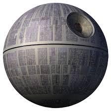 Το Death Star, όπως είναι στην ταινία