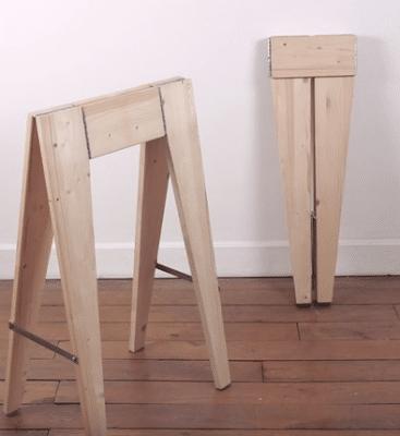αναδιπλούμενο ξυλουργικό καβαλέτο