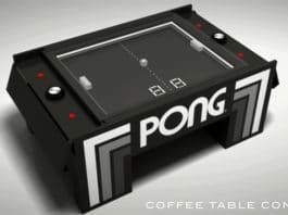 ένα μηχανικό παιχνίδια ping pong