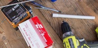 Δραπανοκατσάβιδο για κατασκευές σε φοιτητικά έπιπλα