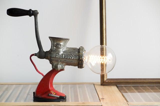 industrial και steampunk φωτιστικά