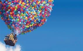 Σκηνή από την ταινία της Pixar UP