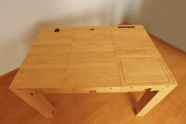 Deskbloks ένα ξύλινο γραφείο που έρχεται στα μέτρα σας