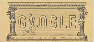 Doodle για την 120η επέτειο από την αναβίωση των Ολυμπιακών αγώνων