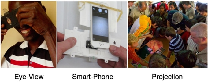Οι 3 διαφορετικές λειτουργίες του Foldscope