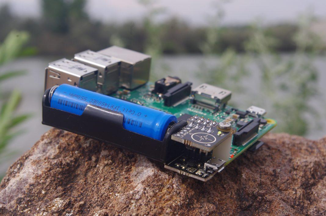 Raspberry Pi με μπαταρία
