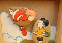 έργα σε πέτρες από παιδικές ταινίες