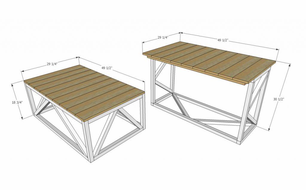 τραπεζάκι σαλονιού που μετατρέπεται σε κανονικό τραπέζι με μία κίνηση