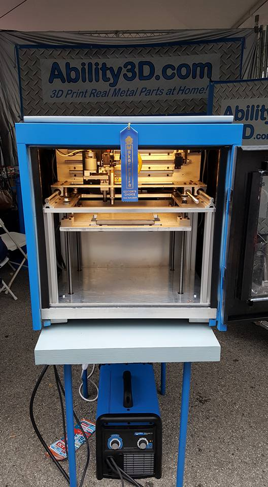 3d εκτυπωτής μετάλλου