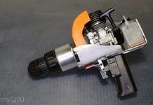 DIY δράπανο με κινητήρα νίτρου