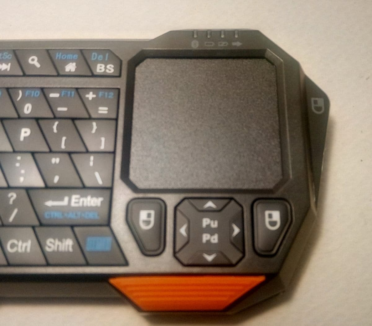 Μίνι πληκτρολόγιο touchpad