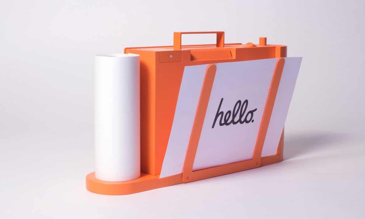 Ένας φορητός εκτυπωτής με πολύ όμορφο design