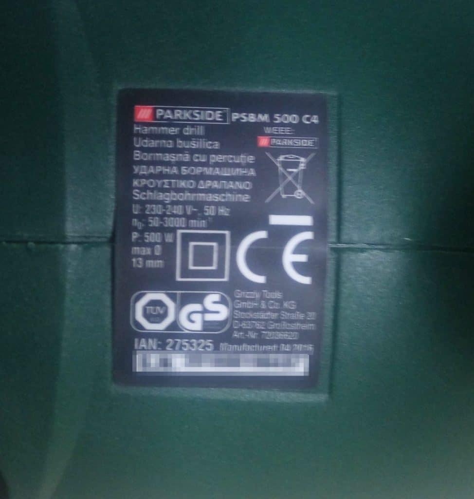 Parkside PSBM 500 C4_20_v1