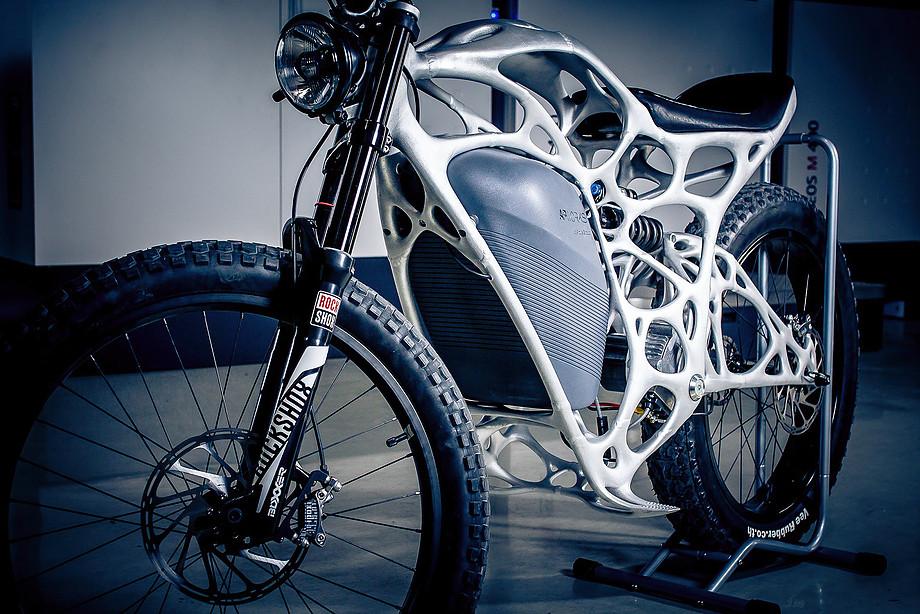 3D εκτυπωμένη μοτοσυκλέτα