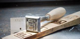 DIY μεταλλική σφραγίδα