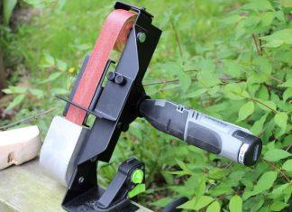 Ταινιολειαντήρας που λειτουργεί με dremel