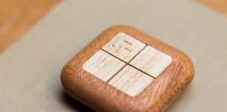 ξύλινο τηλεκοντρόλ για έλεγχο wifi