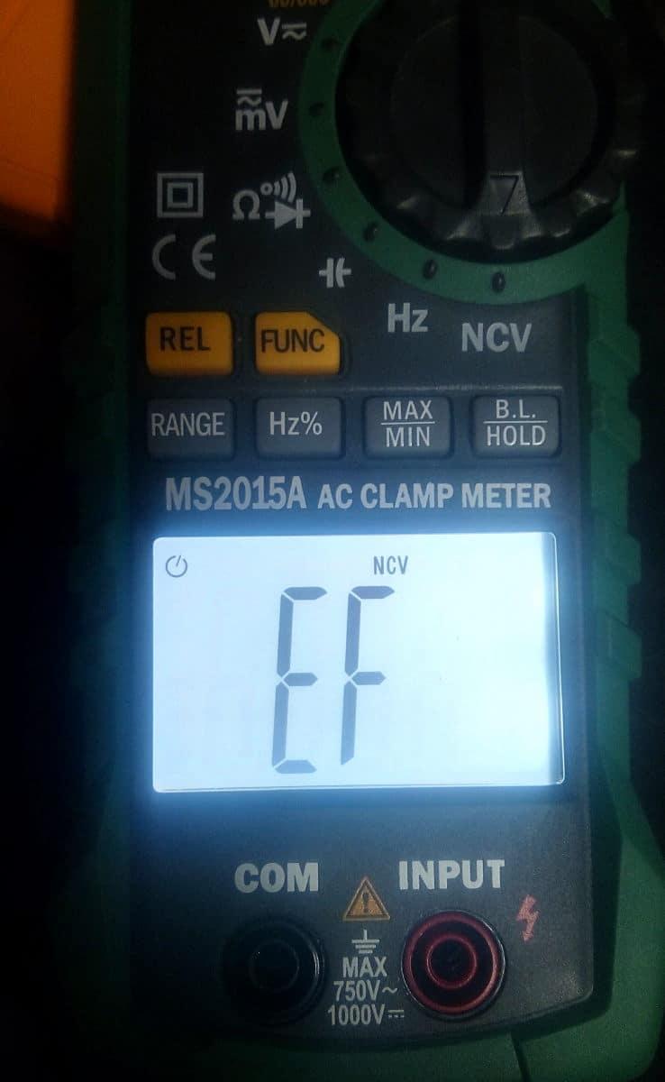 αμπεροτσιμπίδα AC mastech MS2015A